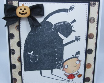Going to Scare You - Handmade Greeting Card