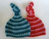 baby knot top hat 0-3 months