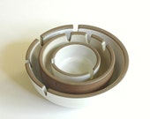 Heath Ceramics Nesting Ashtray Set 3 Mid Century California Pottery
