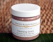 Cleansing Grains For Normal to Oily Skin with Red Sandalwood Powder