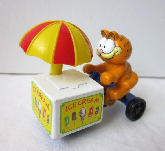 Garfield Ice Cream Cart Figure by Ertl