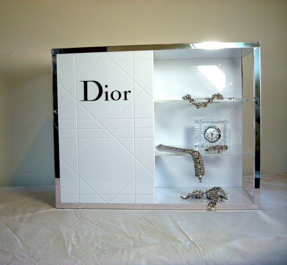 Vintage Christian Dior Retail Sunglass or Jewelry  Display Shelf