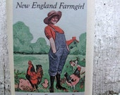 New England FARMGIRL SOAP Heavenly Scent Natural Herbal Bath Bar