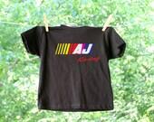 Personalized Car Racing Inspired Birthday Short Sleeve Shirt