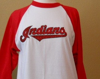 Indians Baseball Shirt - Woman