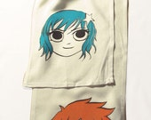 Scott Pilgrim scarf - for tahliarosemarie only