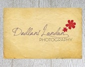 Premade Custom Business Logo, Watermark and Business Card