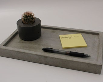 CLEARANCE SALE  Concrete Tray 12""
