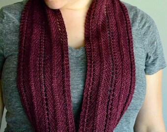 Chevron Sunshine Knitting Pattern by Katie Canavan