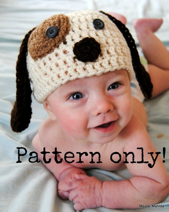 Items Similar To Pdf Pattern For Baby And Child Puppy Dog Crochet