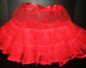 "Custom Vintage-style Petticoat - Long for Swing style or short ""tutu"""