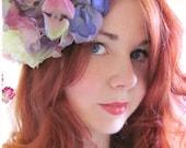 Handsewn Fascinator - Delicate Pastel Spring Flowers
