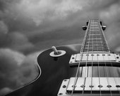 Guitar Photography  Black And White Home Decor Man Cave 10x8 Print Weapon Of Choice...