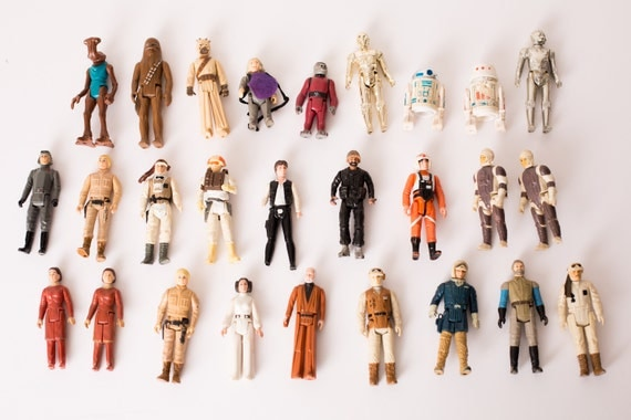 Vintage 1977-80 Star Wars Action Figures by thewienerdogranch