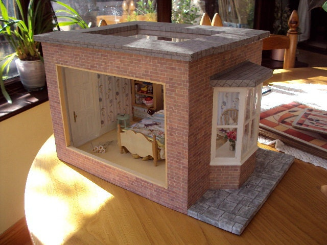 Miniature Children S Bedroom Room Box Diorama: Unavailable Listing On Etsy
