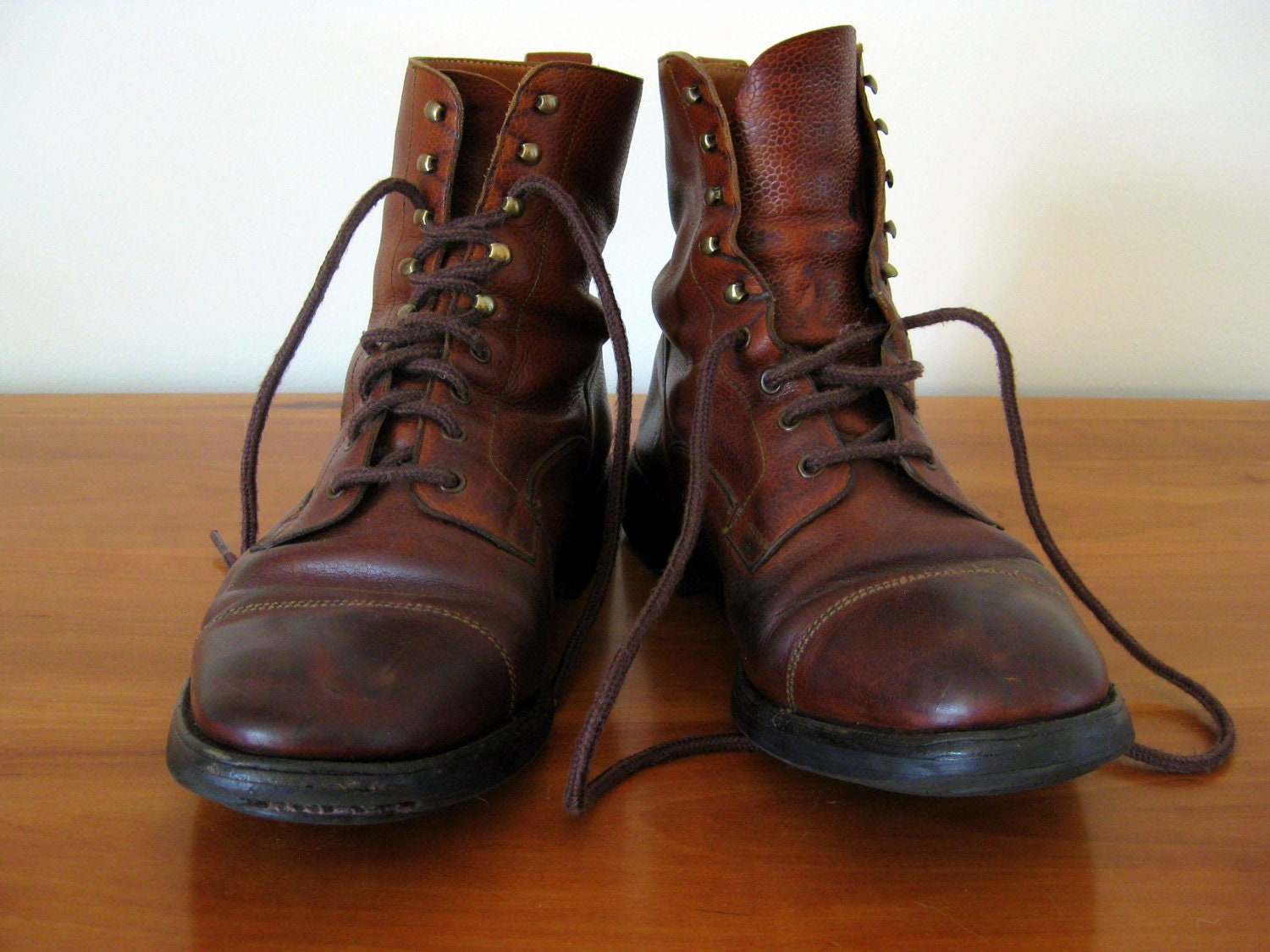 Mens Vintage Boots - Cr Boot