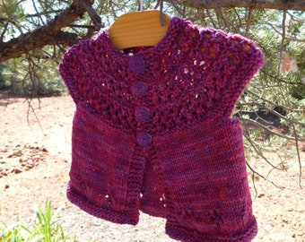 Layer Cake Baby Cardigan Sweater PDF pattern newborn, 3, 6, 9, 12, 18 months 2t 3t 4t
