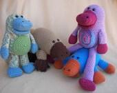 CraftyDeb Designs Combo Set of Crochet Patterns