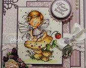 Fairy Happy Birthday - RESERVED - Custom Order for Wendydh