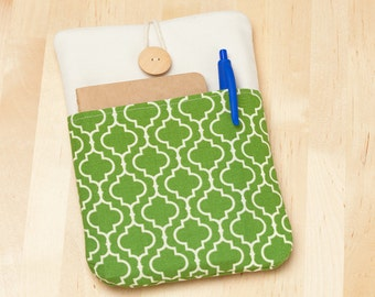 ipad mini case  / ipad mini sleeve - retro green -