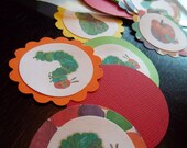 The Very Hungry Caterpillar Party- Table Confetti