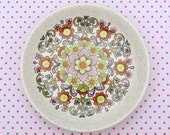 Vintage Palissy England Small Retro Floral Dish