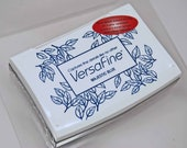 VersaFine Stamp Pad -- Majestic Blue -- No Refill Needed Long Lasting Captures fine details like no other