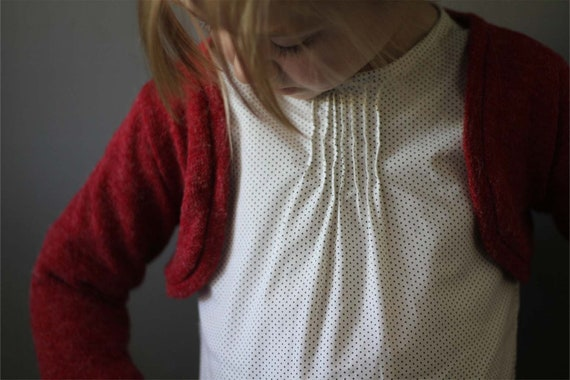 CLEARANCE polka dot  Pintuck blouse black white 12m  3t 4/5t 5/6 ready to ship tunic