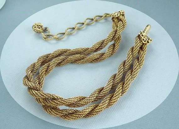 Vintage Twisted Mesh Rope Chain - Fashion Jewelry