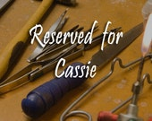 Rerserved for Cassie, halo ring