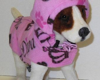Diva Dog Hoodie. Miniature schnauzer, Boston Terrier.