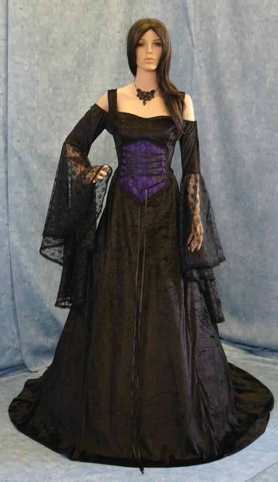 Items similar to Gothic vampire Renaissance medieval