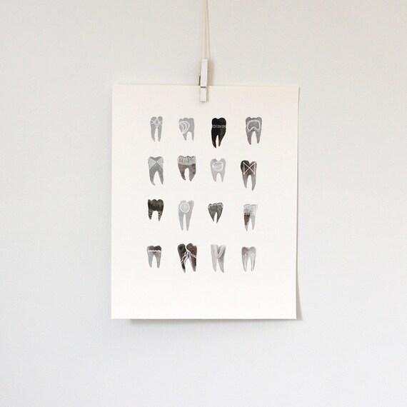 Symbolic Teeth, 8x10 print