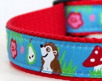 Groundhog Day Dog Collar / Adjustable Dog Collar / Ribbon Dog Collar