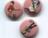 Brian Jonestown Massacre Springfield style Pin Pak
