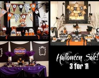Halloween Printable Sale 3 for 1