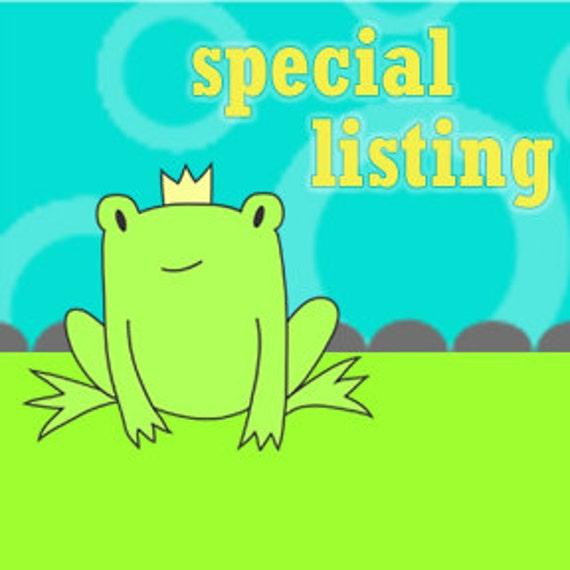 Special Listing for Sarah