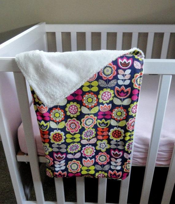 Baby Blanket . Minky Baby Blanket . Toddler Blanket Minky . Play Mat. Pink