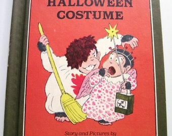 Arthur's HALLOWEEN Costume - Vintage CHILDREN'S BOOK - Lillian Hoban