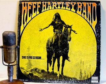 """ON SALE Keef Hartley Band Vinyl Record Album 1970s Blues Rock Music Woodstock Performer """"The Time is Near"""" (Original 1970 Deram)"""