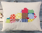 "CHOOSE YOUR STATE - State Love Pillow Sham - 12"" x 16"""