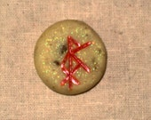 CUSTOM FOR STACI Altar/Pocket Bind Rune, Prosperity with Herbs
