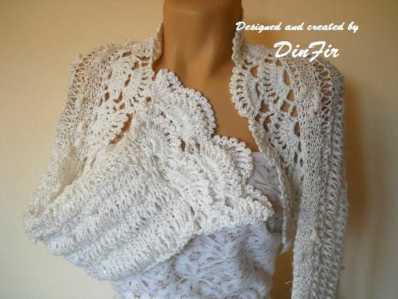 PURE  COTTON  BOLERO  Shrug,  Women White Cotton Shrug Bolero, Wedding Bridal Shrug