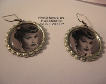 I Love Lucy Earrings Three designs to choose from