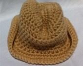 Newborn to 12 months Baby Infant Boy Girl Cowboy Hat Custom Color
