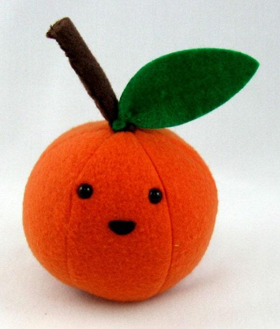 peluche mandarine