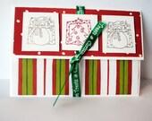 Tri-Fold Christmas Greeting Card