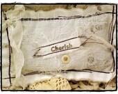 Cherish - Lavender Sachet Shabby Cottage
