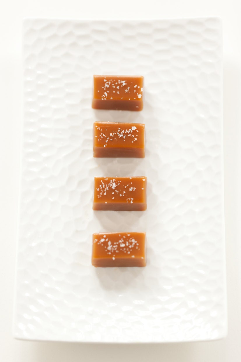 Fleur de Sel Caramels Wedding Favor Sampler As by TheCaramelJar