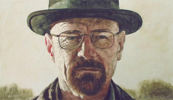 Full Heisenberg - an original Breaking Bad painting